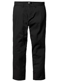 Pantaloni chino Regular Fit negru bpc bonprix collection 0