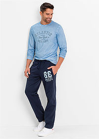 Pantaloni de jogging bleumarin bpc bonprix collection 3
