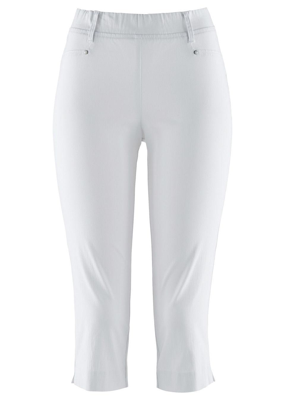 Pantaloni stretch capri bonprix