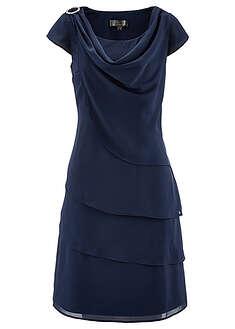 bd6839f07f Sukienka z tkaniny szary Ponadczasowa • 109.99 zł • bonprix