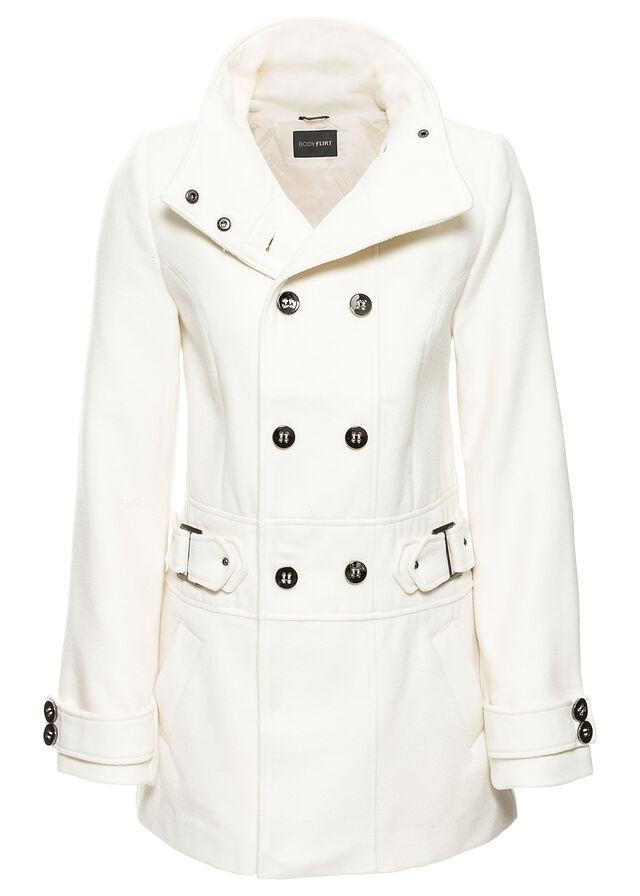 Bunda krémovo biela Pekná bunda s • 44.99 € • bonprix b6a14ae65f4