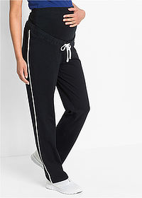 Pantaloni sport de gravide negru bpc bonprix collection 1