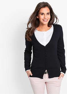Jachetă tricotată-bpc bonprix collection