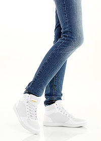 Ghete casual alb RAINBOW 2