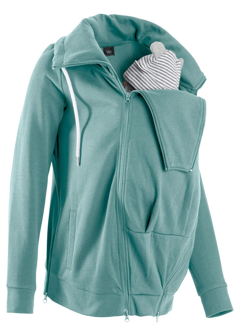Для будущих мам: трикотажная куртка с вставкой для малыша от bonprix