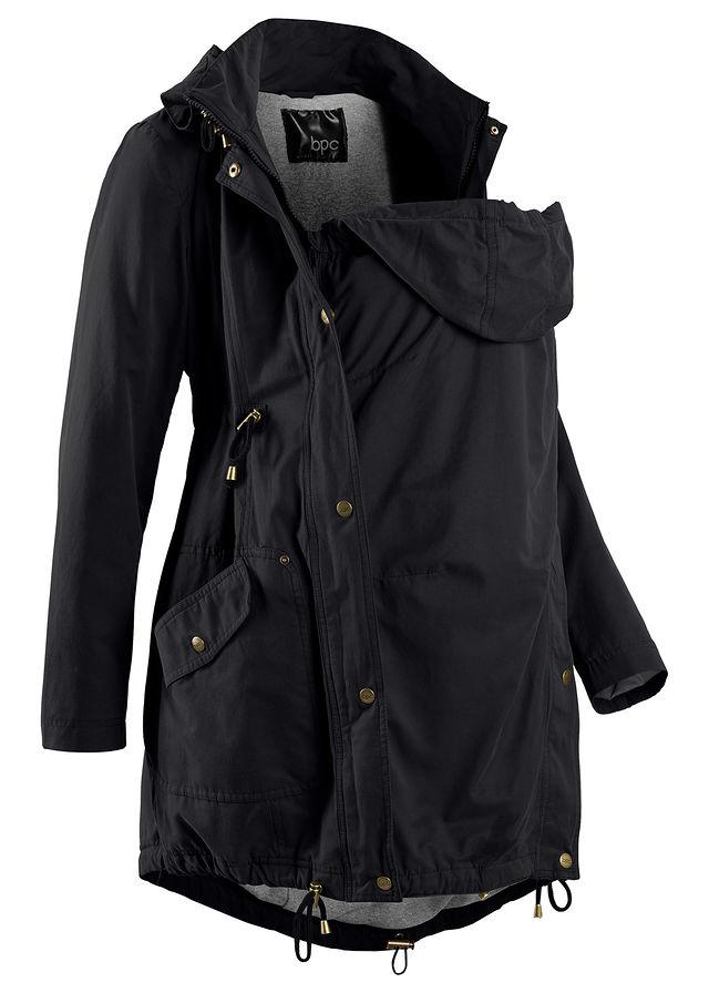 Kismama parka kabát kisbaba betéttel fekete • 15999.0 Ft • bonprix c139f859ac