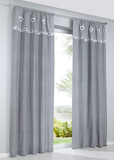 Draperie cu print, bumbac bio (1buc/pac)-bpc living bonprix collection