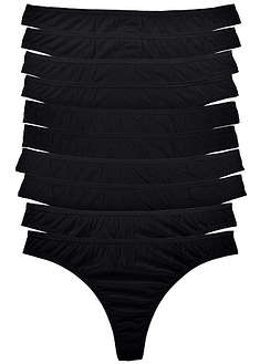 Tanga (10 db-os csomag) bpc bonprix collection 5