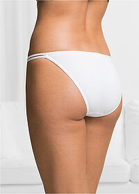 Chilot Tanga (6buc/pac) negru/alb/gri bpc bonprix collection 6
