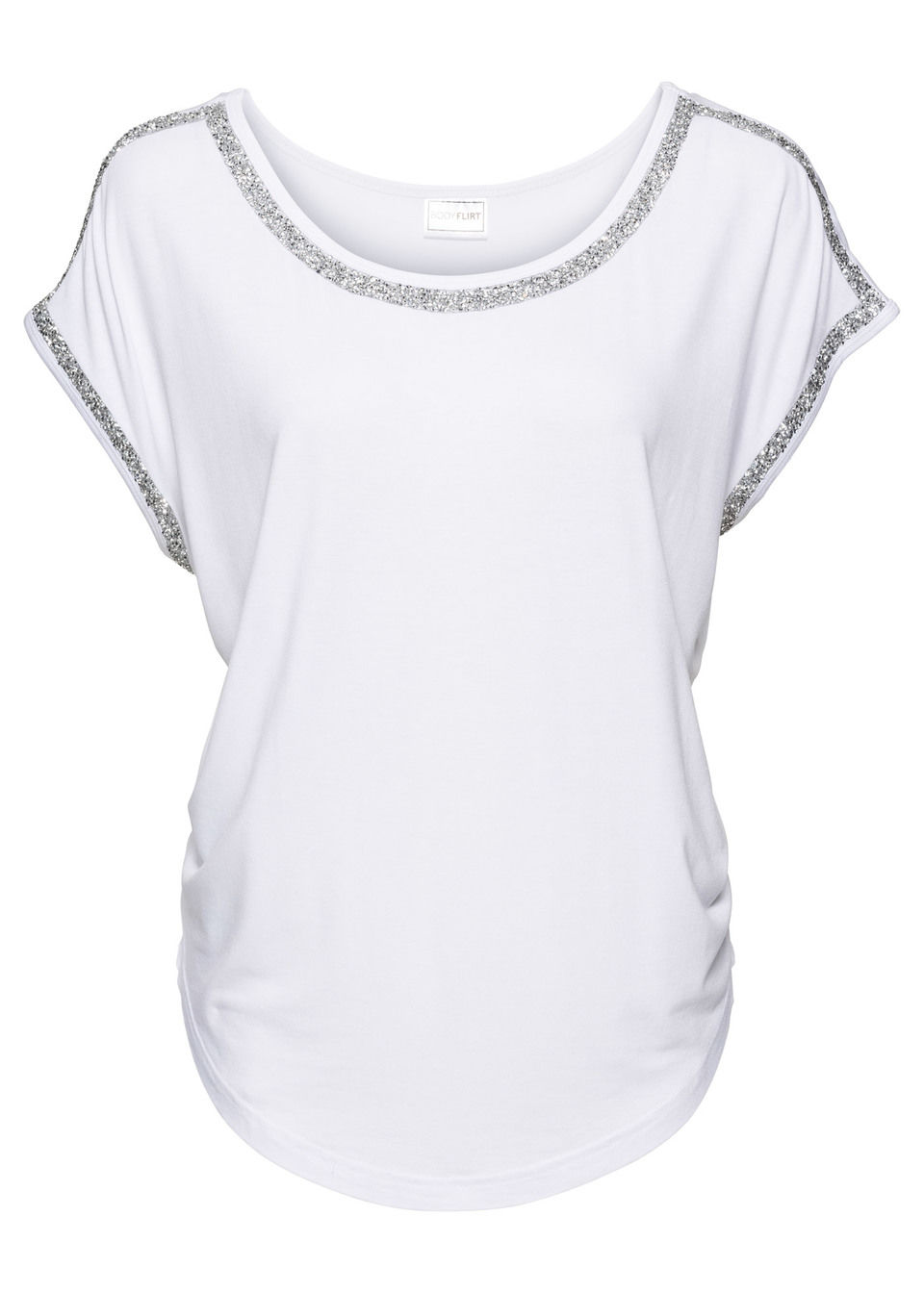 calitate superioară cei mai buni adidași oferte exclusive Bluză cu aplicaţie sclipitoare mov/gri • 89.9 lei • bonprix