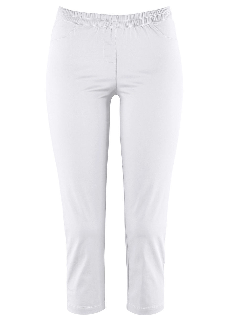 Pantaloni Treggings 3/4 cu stretch bonprix