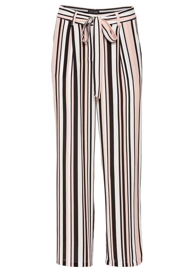 837a083e Spodnie 7/8, szerokie nogawki