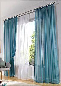 Stor uni transparent alb bpc living bonprix collection 4