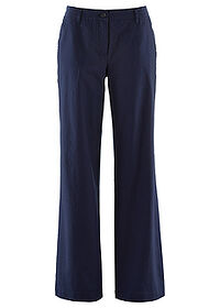 Pantaloni in, largi bleumarin bpc bonprix collection 0