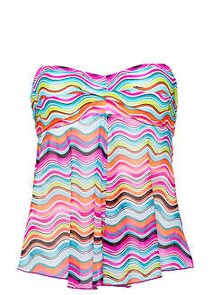 Top tankini-RAINBOW