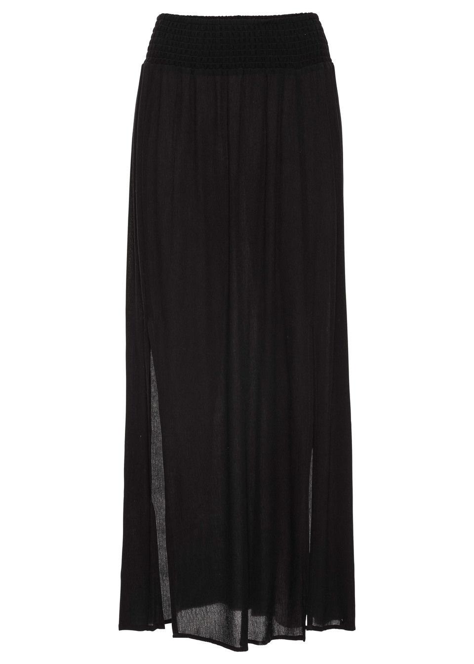 Макси-юбка с разрезами