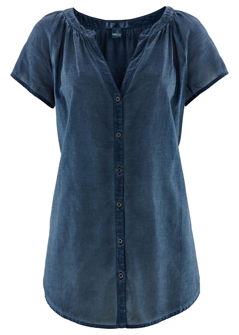 Bluză cu mâneci scurte bonprix