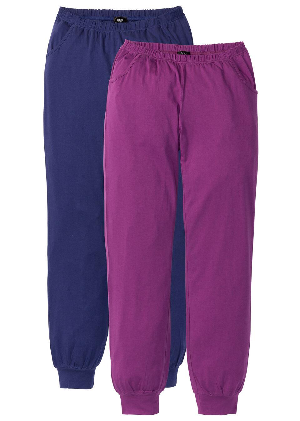 Pantaloni de pijama (2buc/pac) bonprix