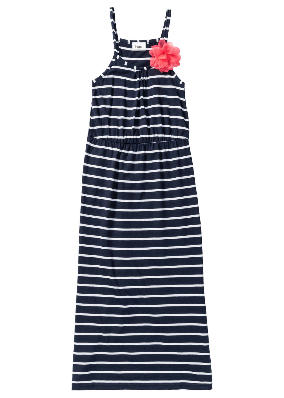 Платье длиной в пол с декоративным цветком от bonprix