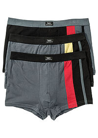 Boxer (3buc/pac) negru/gri bpc bonprix collection 0