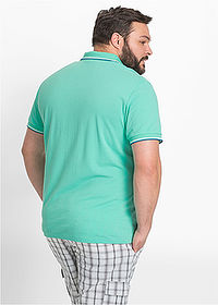 Tricou polo Pique verde mentă bpc bonprix collection 2