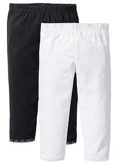 Capri legging csipke szegéllyel (2 db-os csomag)-bpc bonprix collection 47f93075bd