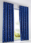 Draperie cu steluţe (1buc/pac) bleumarin bpc living bonprix collection 2