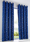 Draperie cu steluţe (1buc/pac) bleumarin bpc living bonprix collection 14