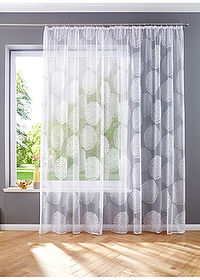 Perdea jacquard alb bpc living bonprix collection 4