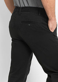 Pantaloni chino Regular Fit negru bpc bonprix collection 4