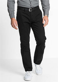 Regular Fit chino-nadrág, Straight fekete bpc bonprix collection 1