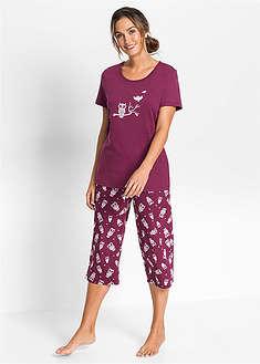 Пижама-капри с коротким рукавом bpc bonprix collection 439 грн . 393dc74b38c