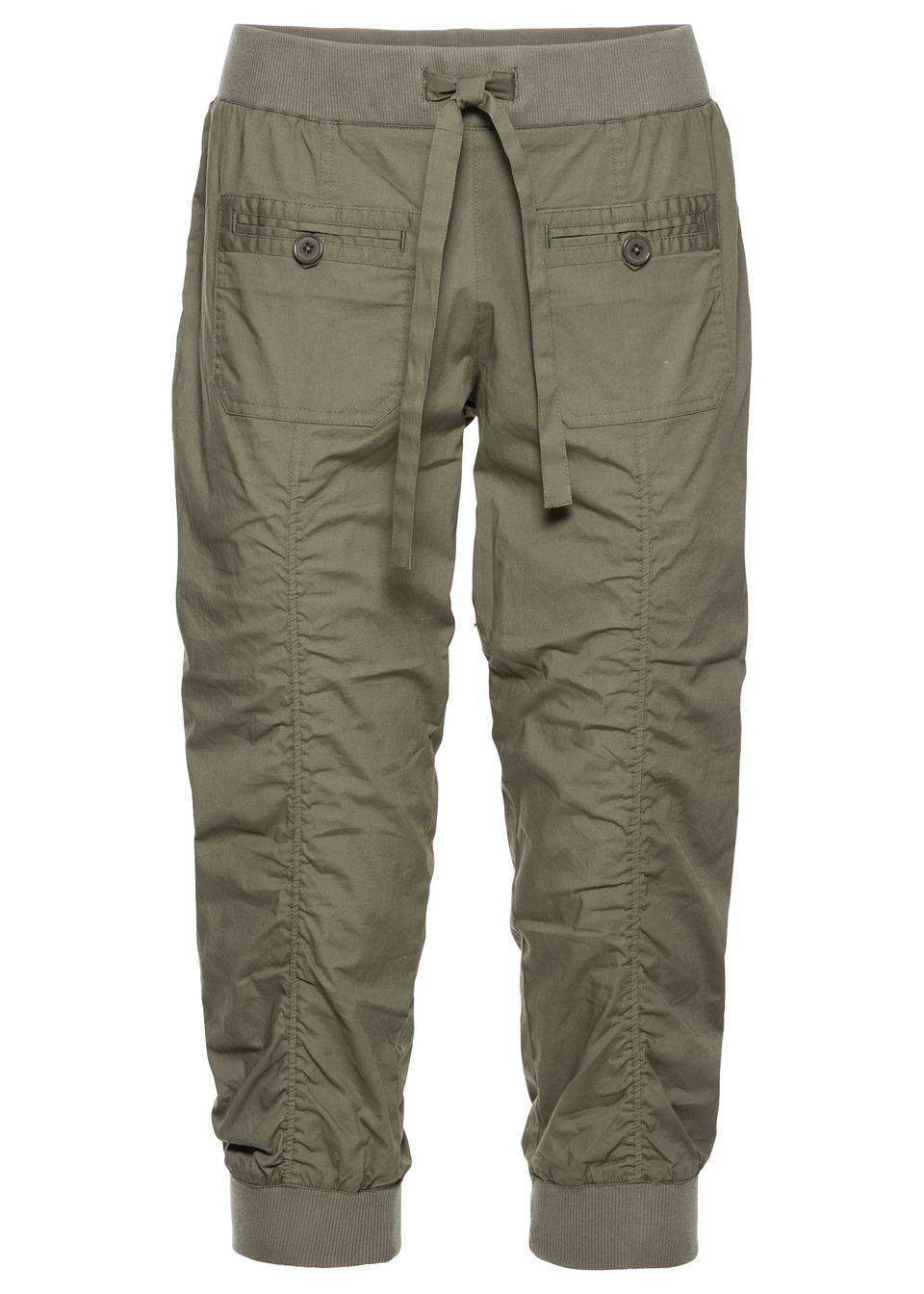 Удобные брюки-капри