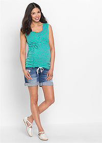 Short denim gravide albastru stone bpc bonprix collection 3