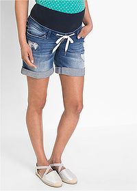 Short denim gravide albastru stone bpc bonprix collection 1