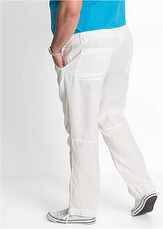 Pantaloni drepţi din in, Regular Fit bpc bonprix collection 47