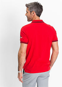 Tricou polo regular fit roșu bpc selection 2