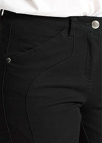 Pantaloni stretch, confortabili negru bpc selection 4