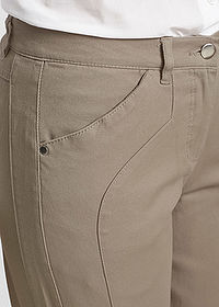 Pantaloni stretch, confortabili gri-bej bpc selection 4