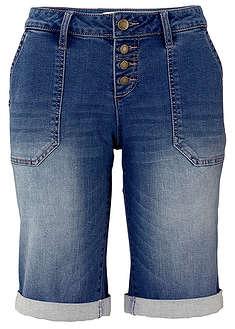 Bermudy dżinsowe niebieski Fason z 4