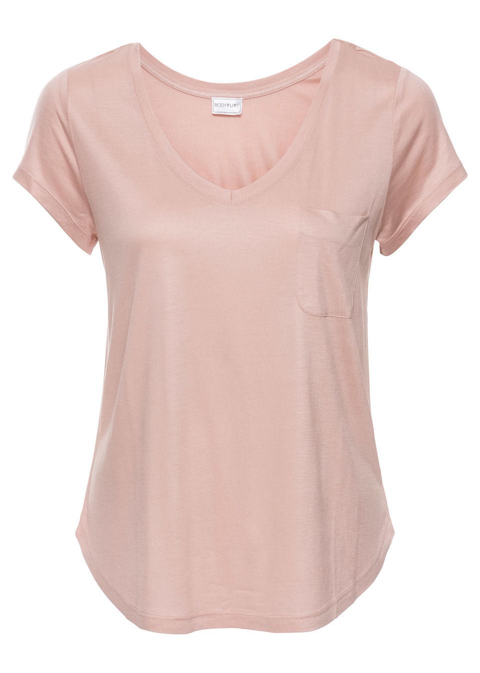 086758ddc9 Shirt pudrowy niebieski Piękny shirt z • 34.99 zł • bonprix