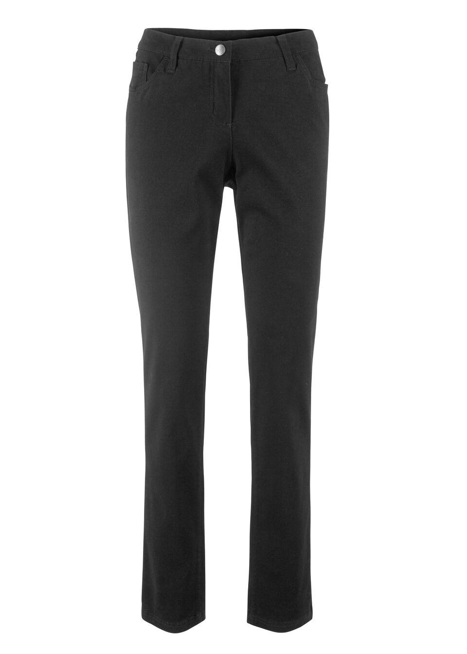 Pantaloni stretch, croi drept bonprix