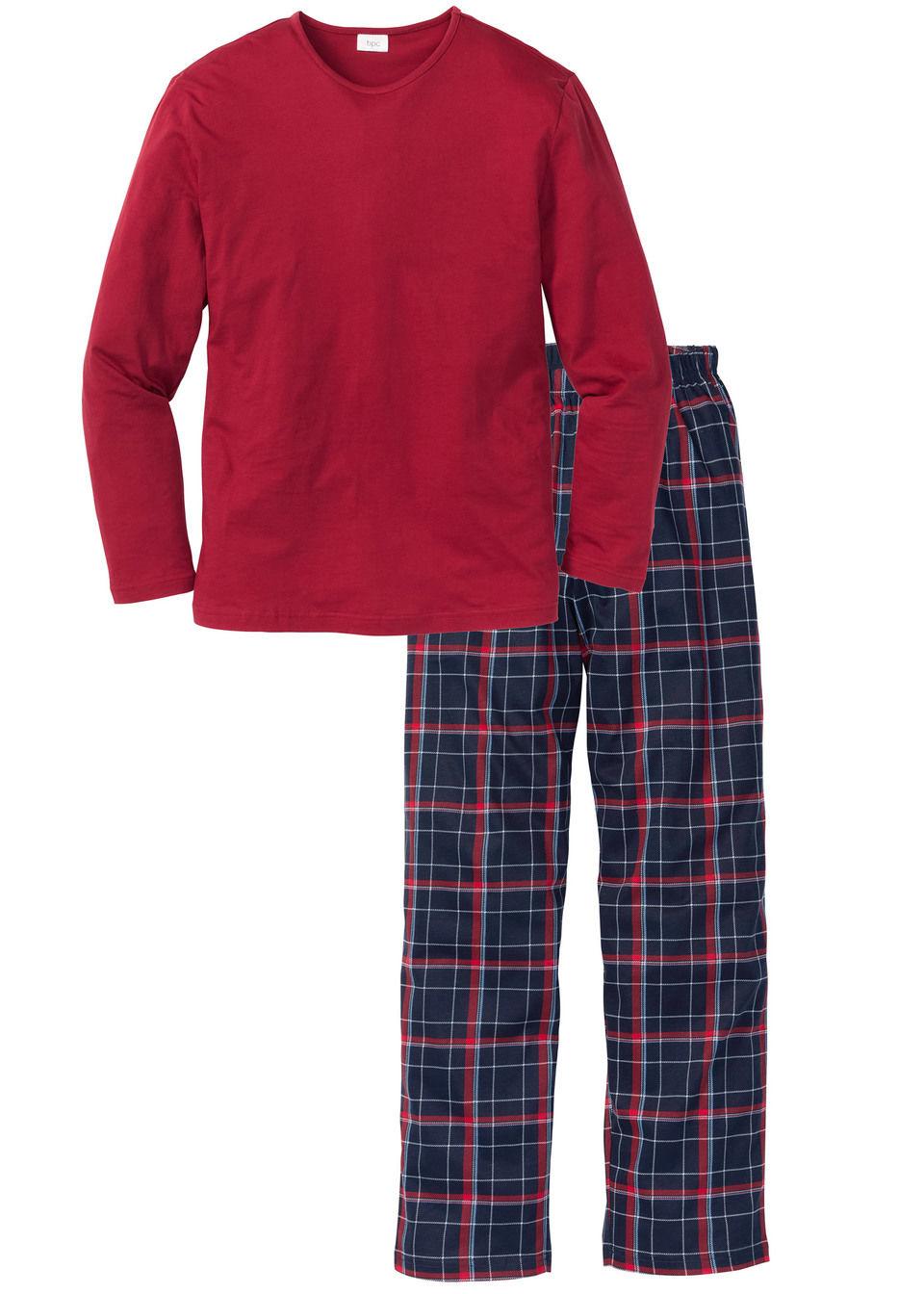 Купить Пижамы, Пижама, bonprix, красный в клетку