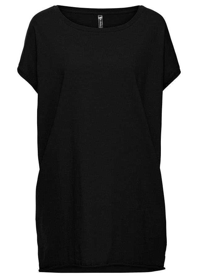 996642020147 Dlhé tričko oversized čierna Široký • 16.99 € • bonprix