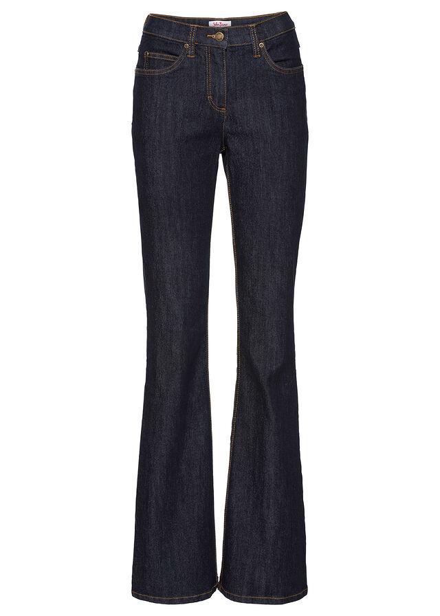 3735724bd028 Strečové džínsy BOOTCUT tmavomodrá • 14.99 € • bonprix