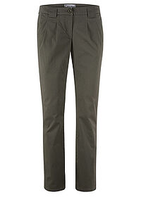 Pantaloni chino stretch oliv închis bpc bonprix collection 0