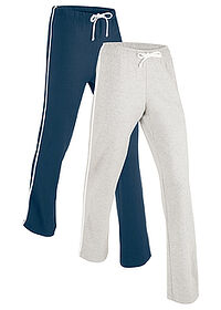 Pantalon sport 2 buc. nivel 1 marin/gri deschis melanj bpc bonprix collection 0