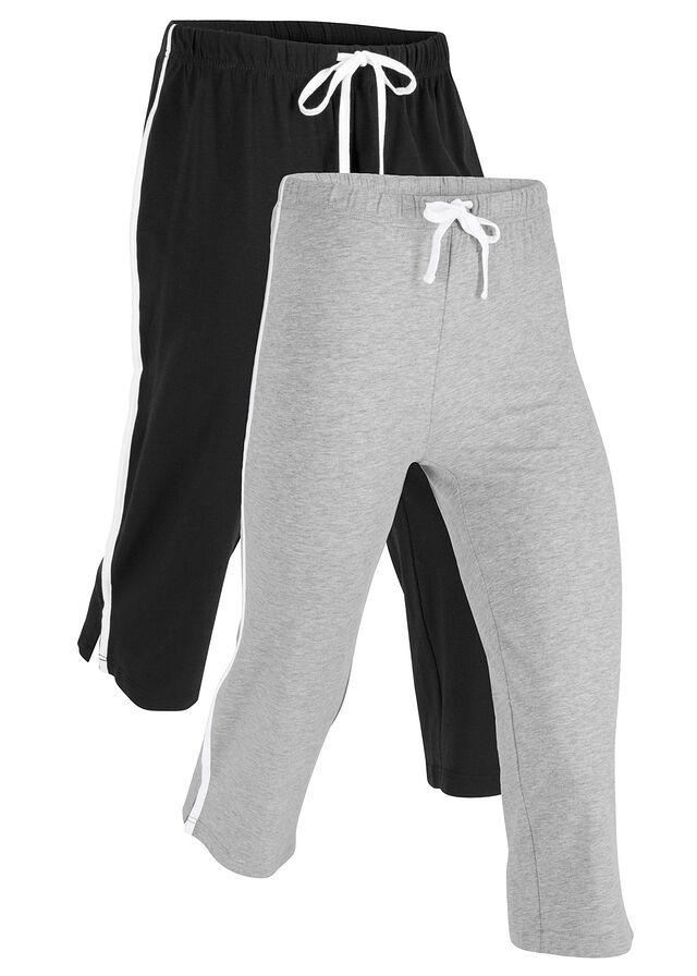 8be56c9f8cd5 Strečové športové capri nohavice