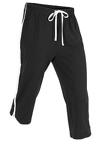 Pantaloni sport 3/4 capri, nivel 1 negru bpc bonprix collection 0