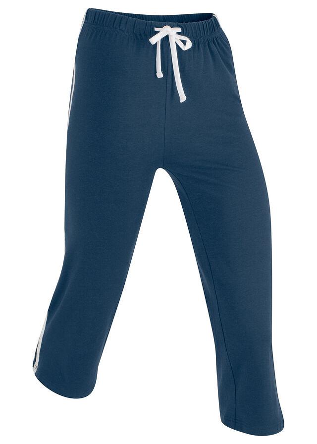 b1637f9749c9 Strečové športové capri nohavice